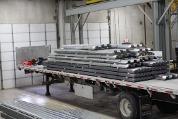 A.C.T. Metal Deck Supply new distribution center