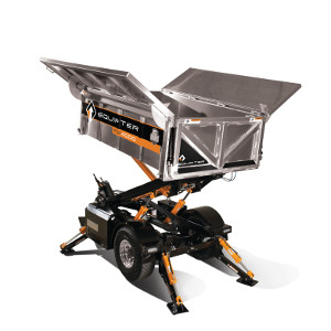 Compact Debris Container 2014 02 25 Roofing Contractor