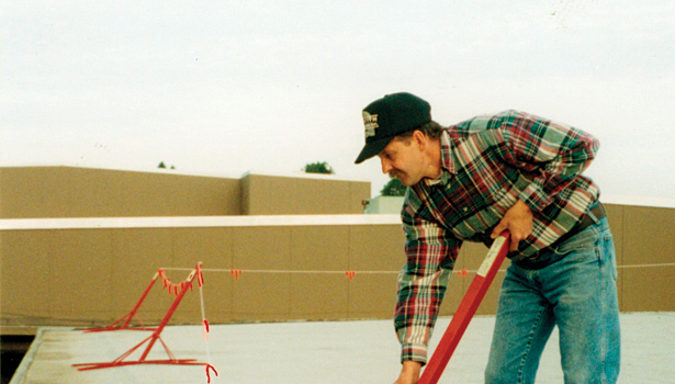 Roofing safety equipment