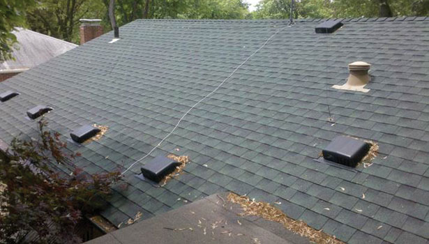 Roof Venting Problems : Attic ventilation mistakes caught on camera