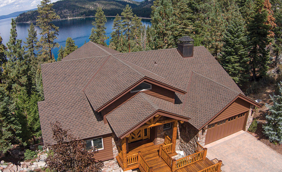 Lake Tahoe Home Wins Arma S Quality Asphalt Roofing Award