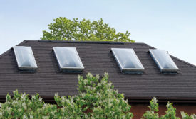 Daylighting roofing