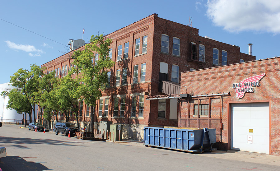 A Walk in Roofing Contractors' Shoes: Red Wing Shoe Company Plant ...