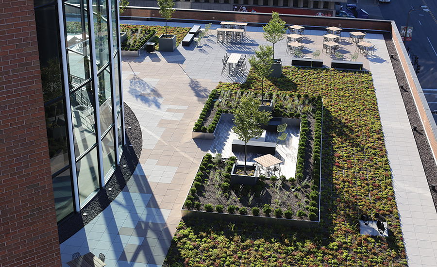 Innovative Green Roof Brings Historic St. Louis Building Into The 21st  Century