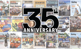 Roofing Contractor 35th Anniversary