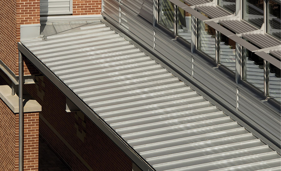 Case Study Pac Clad Metal Panels Redefine Marist School S Appearance 2016 02 10 Roofing Contractor