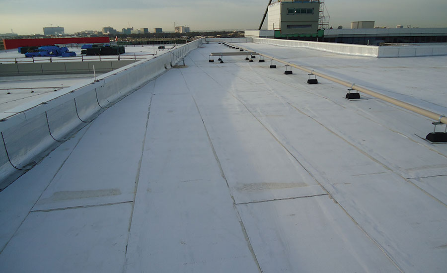 Waterproofing Roof Amp Waterproofing Concrete With Roof