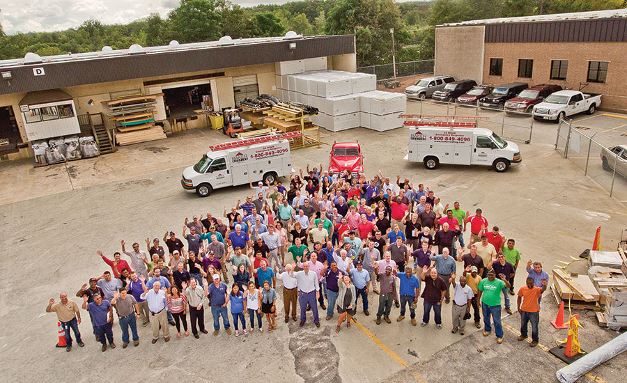 2016 Commercial Roofing Contractor Of The Year Baker