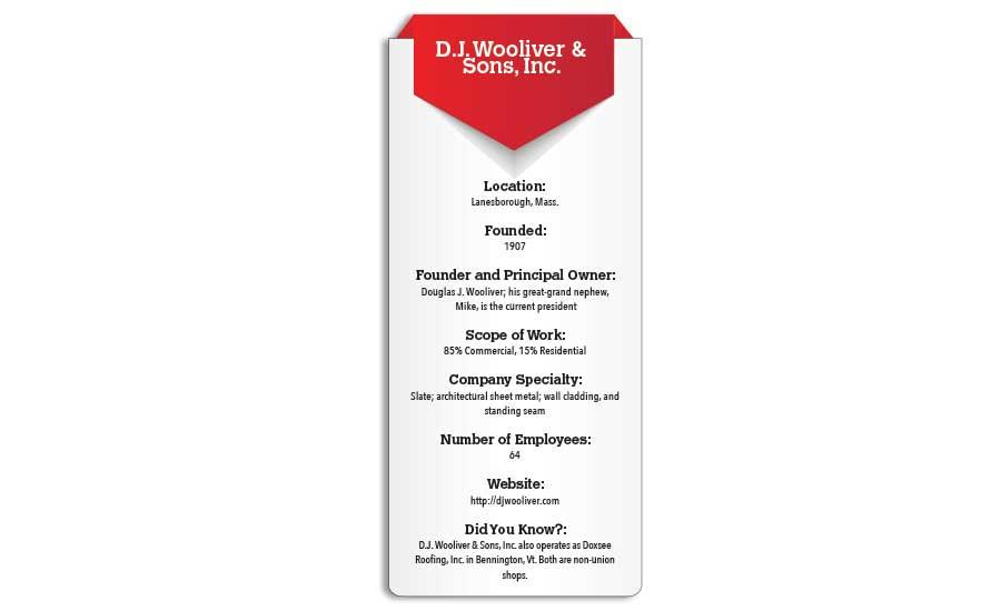 Lasting Legacy D J Wooliver Amp Sons Inc 2017 01 01