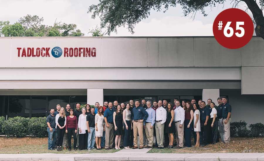 65 Tadlock Roofing Top 100 Roofing Contractors