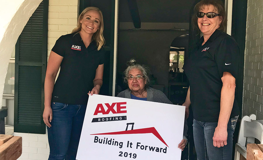 Roofing Community Gives Back