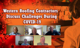 Western Roofing Contractors COVID-19 Panel