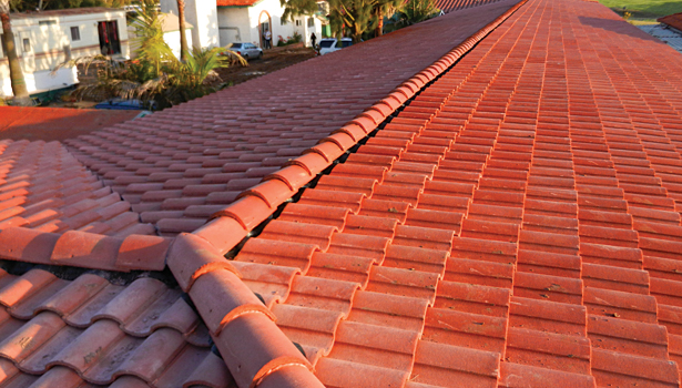 The existing roof was 40 years old and in terrible condition. About a third of the tiles were broken and the decking was badly deteriorated. : mexican roof - memphite.com