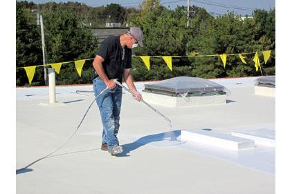 Elastomeric Roof Coatings | 2013-01-30 | Roofing Contractor
