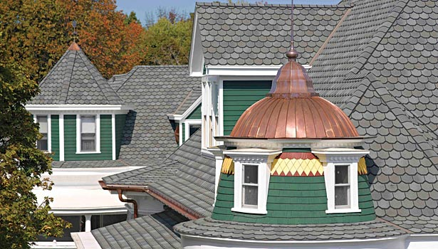Certainteed 174 Carriage House Shingles Give Historic