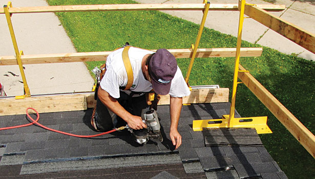Construction Concerns Fall Protection And Steel Buildings: Guardrail Systems For Residential Roofs