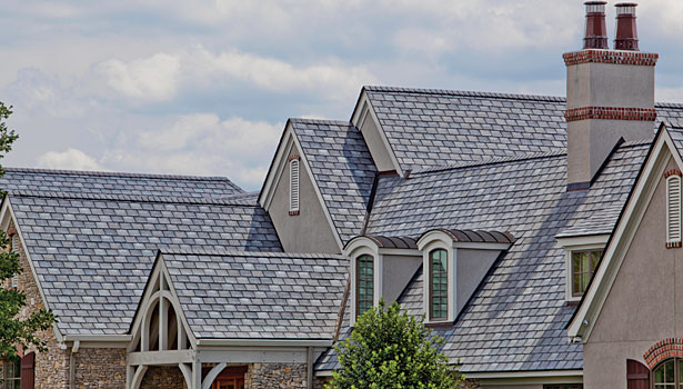 Composite shingles with composite shingles the time for Fiber cement composite roofing slate style
