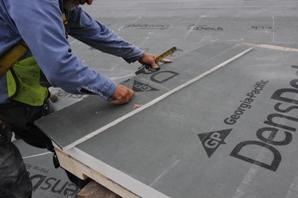 Densdeck Prime Roof Board Demonstrates Greater Flexural