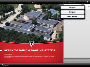 Firestone Build My Roof App