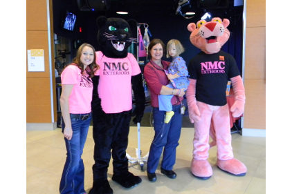 Nmc Exteriors And Owens Corning Mascots Play Bingo At