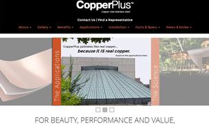 CopperPlus new website