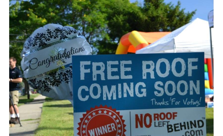 Ridgecon Construction Announces Winner Of No Roof Left