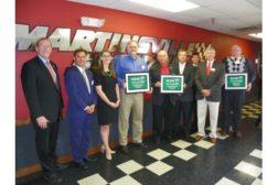 Blue Ridge Fiberboard Inc. wins Virginia NASCAR Green E3 Challenge