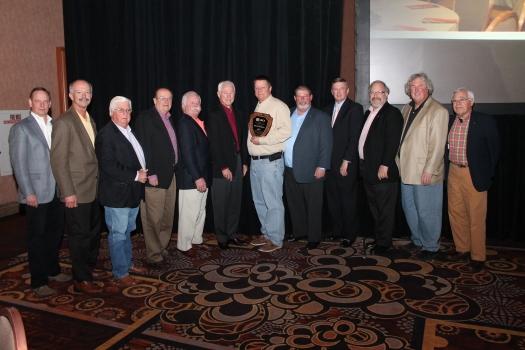 Robert Therrien Receives Nrca J A Piper Award 2014 03