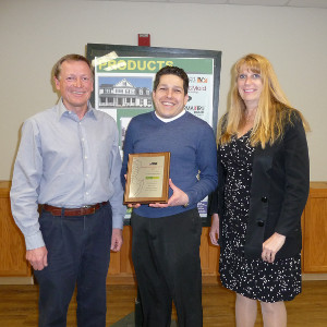 Excellence Award for LaValley-Middleton Building Supply, Inc.
