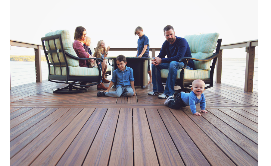Tamko unveils envision decking contractor program 2017 for Envision decking