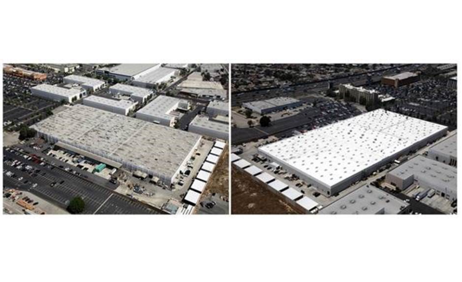 Highland Commercial Roofing Reroofs Commercial Cosmetics Manufacturing Facility Roof