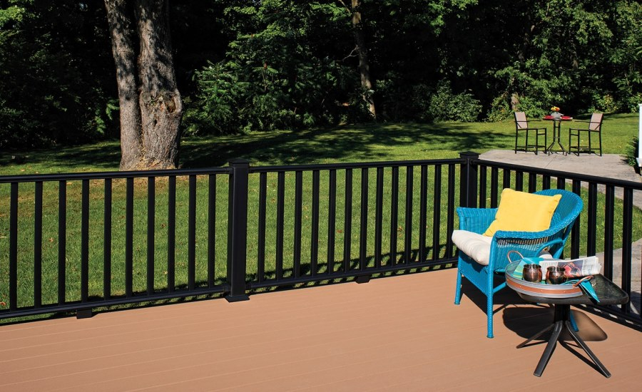 CertainTeed Introduces Three New Dark, Bold Colors to its EverNew® Railing Systems 3