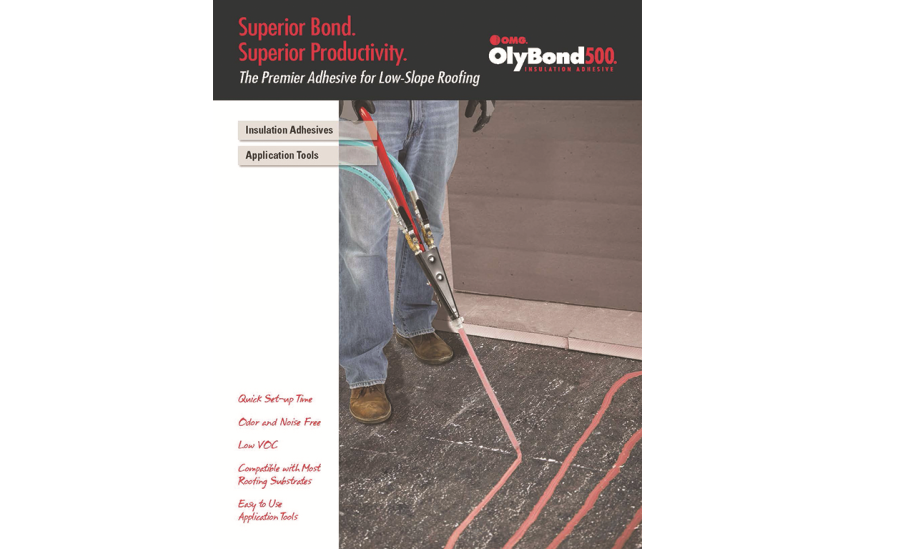 New olybond line card available from omg roofing products for New roofing products