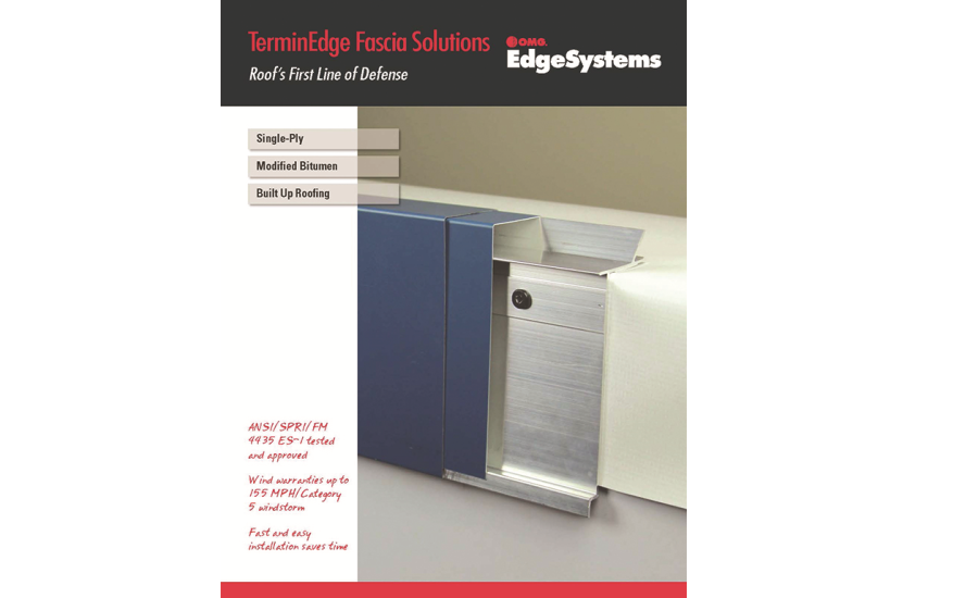 New Terminedge Brochure Available From Omg Roofing