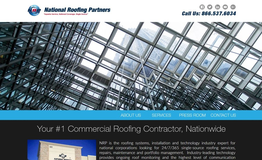 Exceptional National Roofing Partners Announces New Website