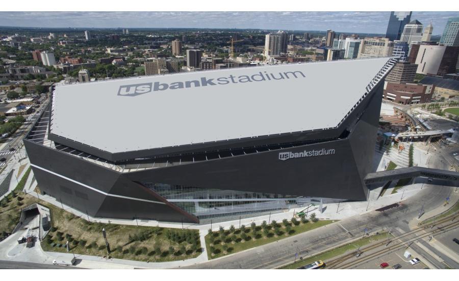 U S Bank Stadium Construction Complete 2016 09 21