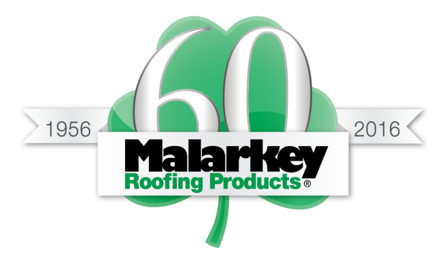 Malarkey roofing products celebrates 60 years of asphalt for New roofing products