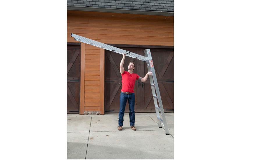 Switchback Ladder 2016 08 08 Roofing Contractor