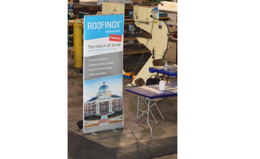 Roofinox Displays Full Line Of Stainless Steel Roofing