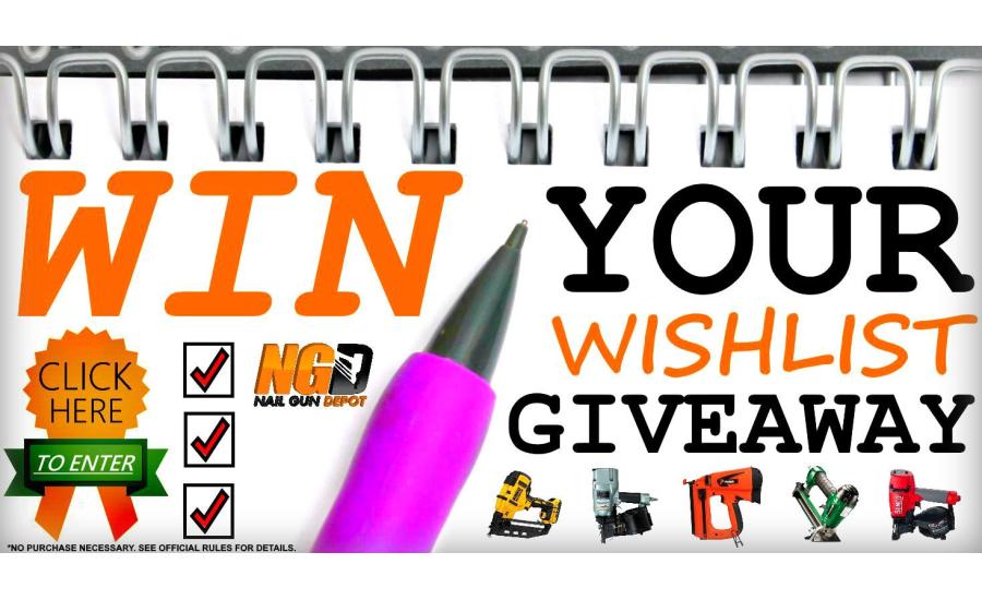 Nail Gun Depot Gives Visitors A Chance To Win Their Wishlist   2016 ...