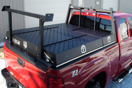 Work Truck Organizer feature