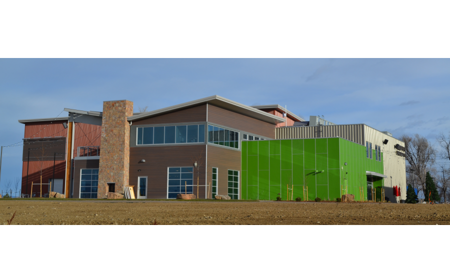 Church Revitalized with Contemporary Aesthetic from Variety of Durable Metal Sales™ Panels
