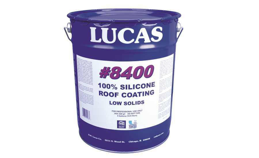 #8400 100 Silicone Roof Coating