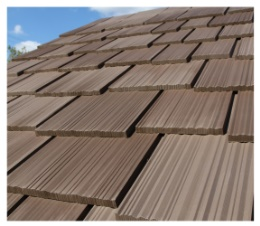 Inspire synthetic shake shingles