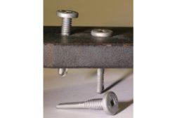 Triangle Fastener low-profile head screw