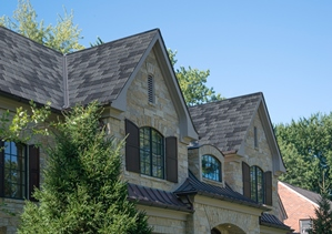 Inspire Roofing Products slate-style roofing
