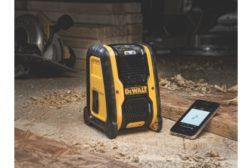 DEWALT jobsite Bluetooth speaker