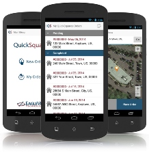 EagleView QuickSquares mobile app for Android