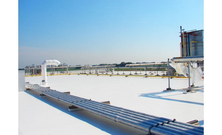 Silicone Roof Coating System 2015 09 14 Roofing Contractor