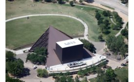 Miller Outdoor Theater new copper roof
